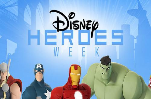 Disney Heroes Week
