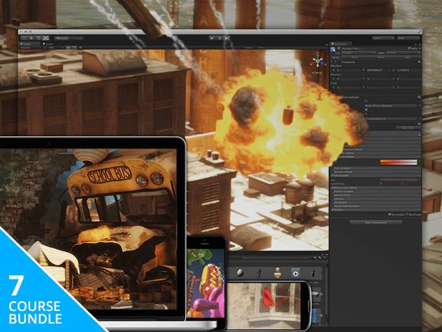 Unity3D Game Developer Course Bundle