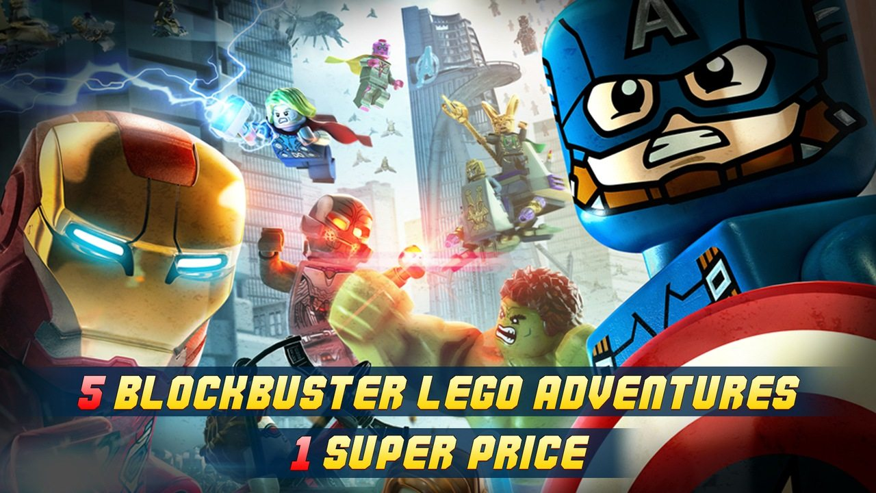 Bundle Stars LEGO Super Heroes Bundle