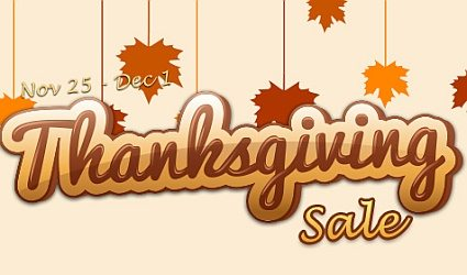 Gamersgate Thanksgiving Sale up to 90% OFF