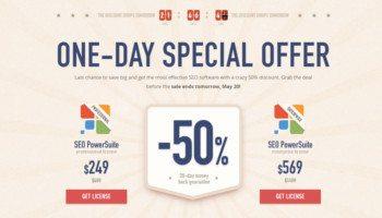 seo power suite summer savings