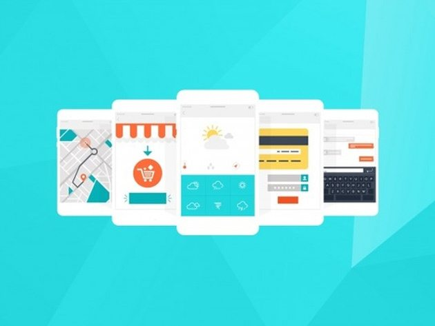 Mobile UI and UX Design Bundle