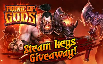 Forge of Gods: Infernal War DLC Steam Key Giveaway (8000 keys)