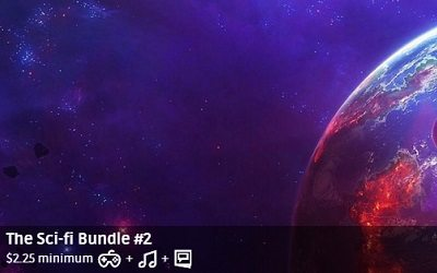 Groupees The Sci-Fi Bundle 2 ($2.25)