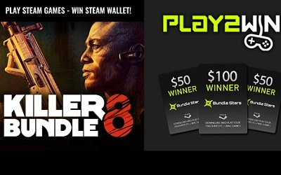 Bundle Stars Steam Wallet Giveaway