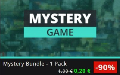 GMG Mystery Pack Flash Sale