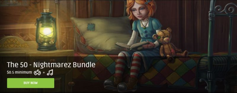 Groupees: The 50 – Nightmarez Bundle ($0.50)