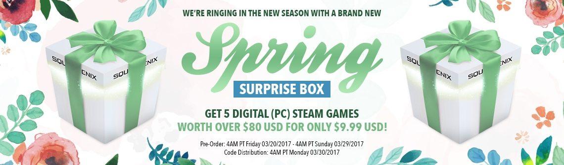 Square Enix Surprise Box Spring 2017