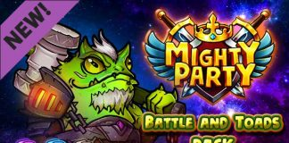 Free Steam key for Mighty Party: Battle and Toads Pack