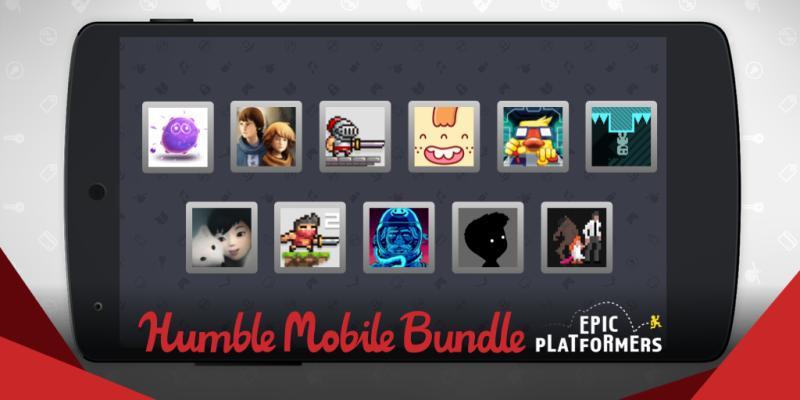 The Humble Mobile Bundle: Epic Platformers