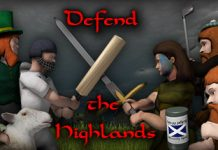 Grab a free Defend The Highlands Steam key