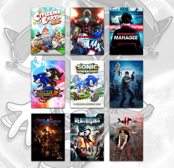 The Humble Capcom X SEGA X ATLUS Bundle