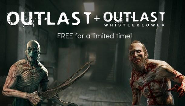 Outlast + Whistleblower DLC for FREE (Steam)