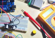 This hands-on, projects-based approach to learning the Arduino platform is catered to all levels of experience. In the course, you'll build an Arduino car, an Arduino phone, an online weather station, game projects, and much more. Regardless of your experience, you'll quickly learn and become proficient with Arduino, or greatly enhance your understanding of the platform. Access 51 lectures & 9.5 hours of content 24/7 Build a remote-controlled car you can drive w/ a smartphone app Create your own cell phone w/ which you can make/receive calls & send/receive messages Understand components like ultrasonic sensors, motor drivers, servos, transistors, & more Gain the confidence to build complex electronics projects Learn how to prototype electronics projects Become a confident maker & prototyper