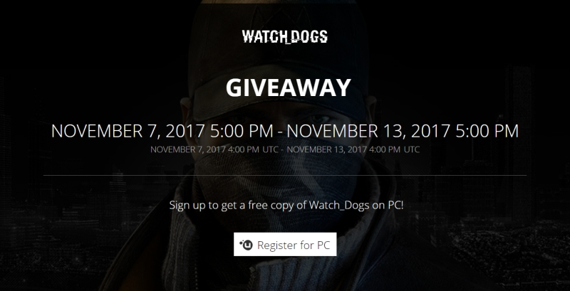 Watch Dogs gratis en uplay  Watch-dogs