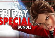 Indie Gala Friday Special Bundle 61 is an indie game bundle collecting 10 Steam games including Dark Days, DeathMetal and Bottle for $1 with 8 more games in the second tier