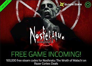 Free Steam Key: Nosferatu - Now Live! | Indie Game Bundles