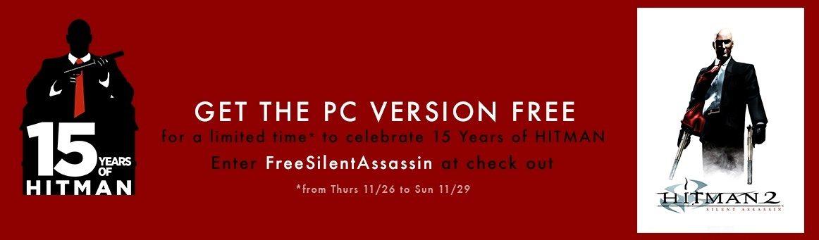 Free Steam Key: Hitman 2 Silent Assassin | Indie Game Bundles