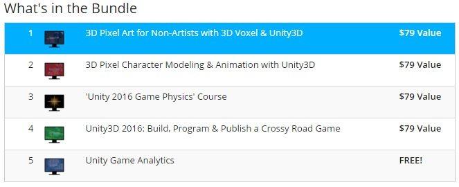Ultimate Unity3D Game Building Bundle | Indie Game Bundles
