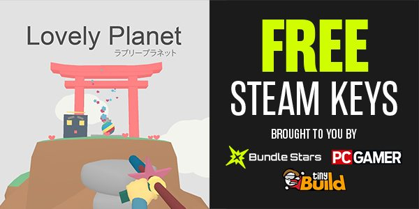 Grab a FREE Lovely Planet Steam Key | Indie Game Bundles
