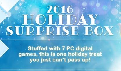 Square Enix Holiday Surprise Box 2021