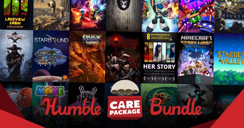 The Humble Care Package Bundle (charity bundle)   Indie Game