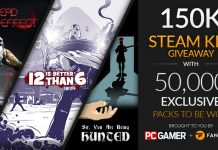 150,000 Steam keys giveaway on Fanatical