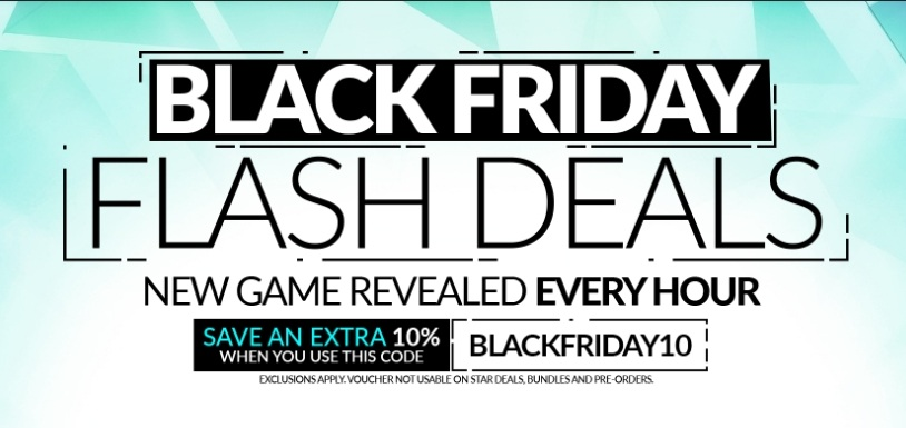 Fanatical Black Friday Flash Deals