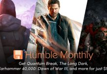 Humble Monthly Bundle January 2018