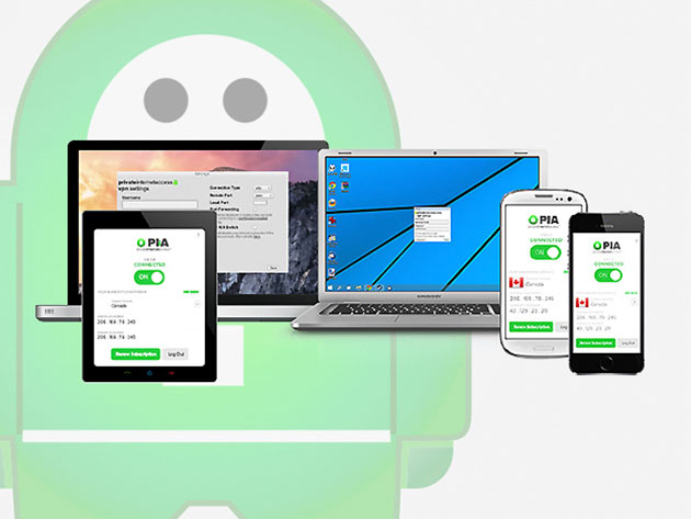 Private Internet Access VPN: 3 Year Subscription (64% off)