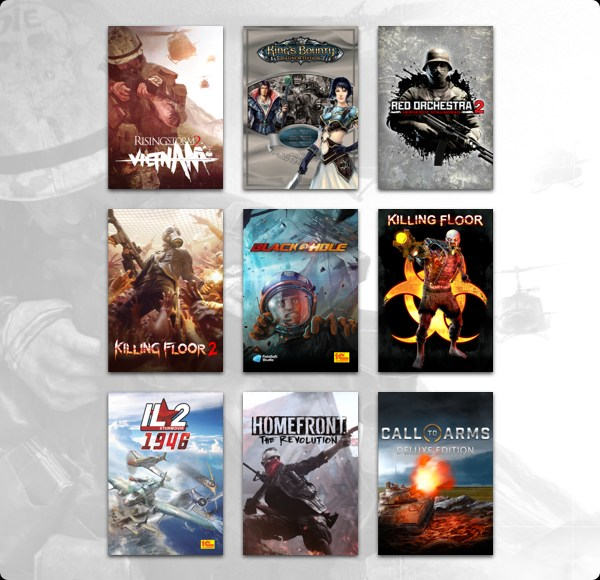 The Humble Hope for Orphans Bundle