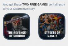 Get SEGA classics Revenge of Shinobi and Streets of Rage 2 for free