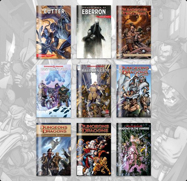 The Humble Comics Bundle: Dungeons & Dragons 2018