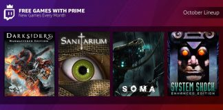Free games with Twitch Prime for October 2018