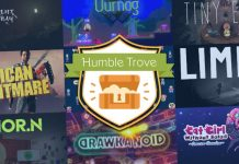 Get 9 DRM-free games from the Humble Trove for free!
