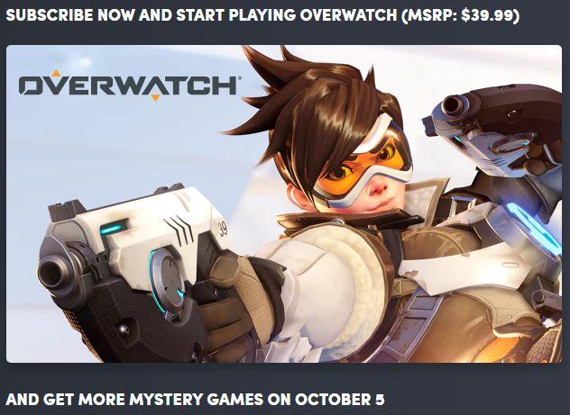 Overwatch Humble Bundle Monthly