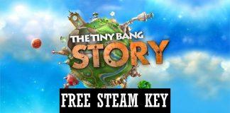Free Steam Key: The Tiny Bang Story