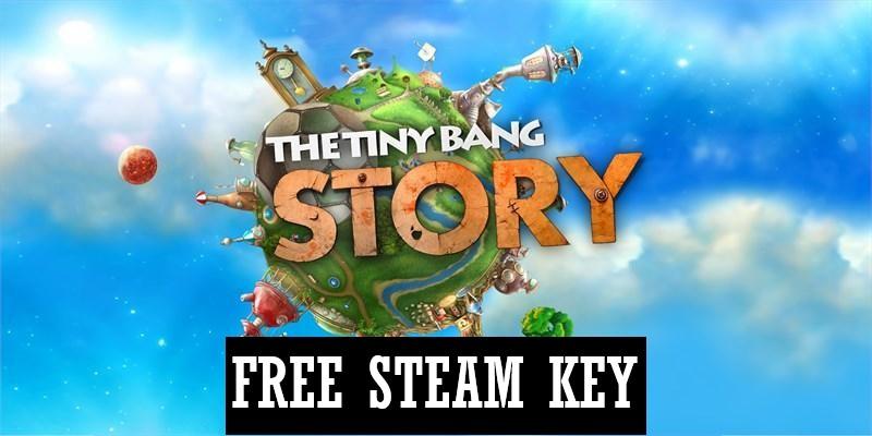Free Steam Key: The Tiny Bang Story   Indie Game Bundles