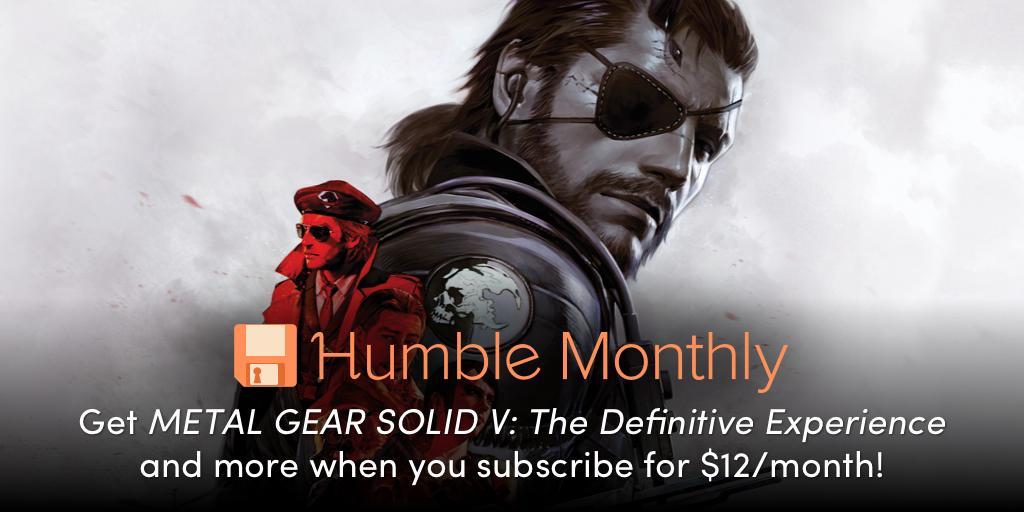 Humble Monthly Bundle December 2018 brings MGS V