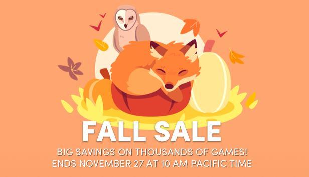 Fall SAle Steam