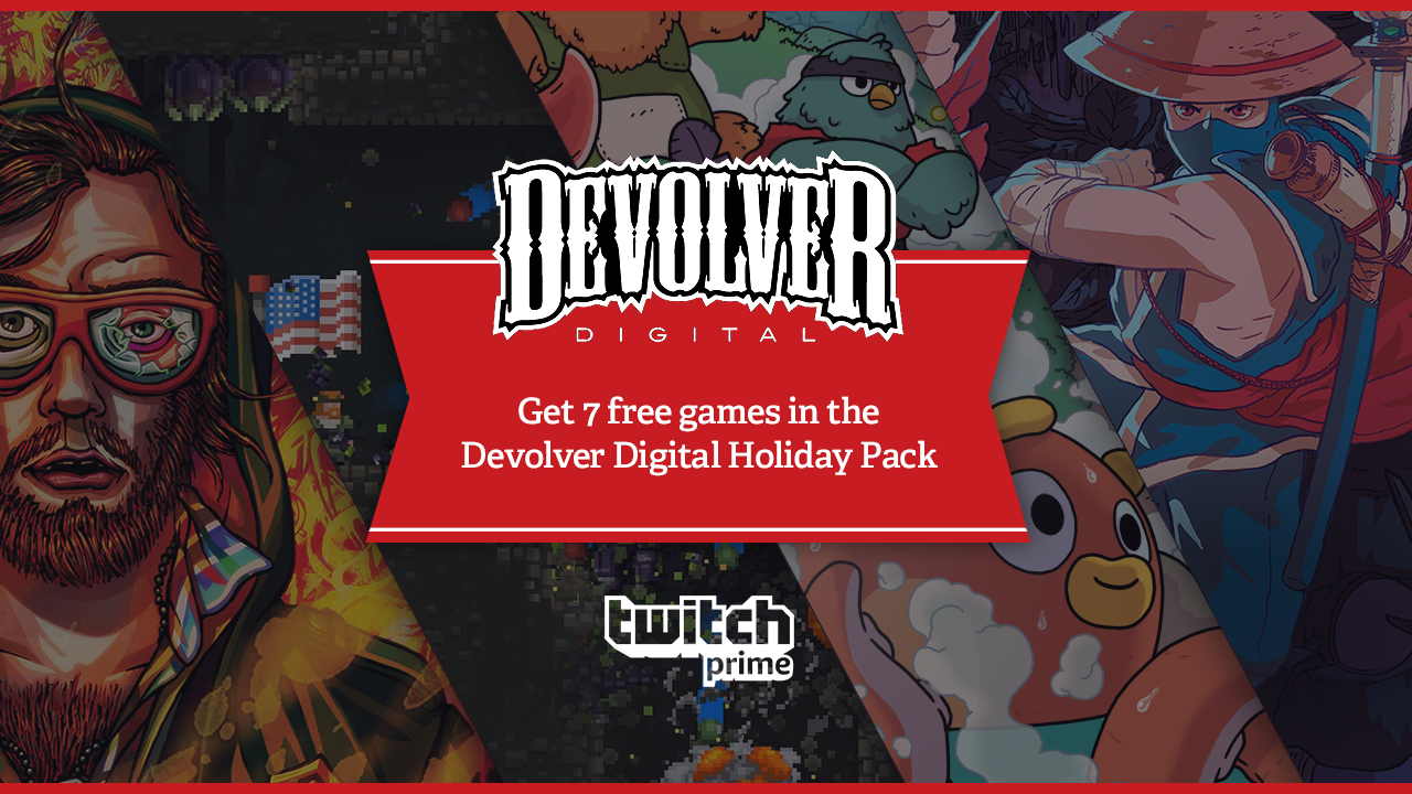 Twitch Prime Holiday Surprise: Get Seven Free Bonus Games