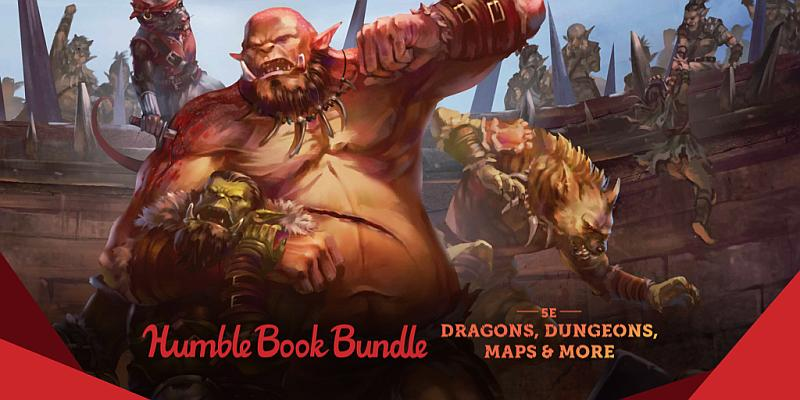 The Humble RPG Book Bundle: 5th Edition Fantasy
