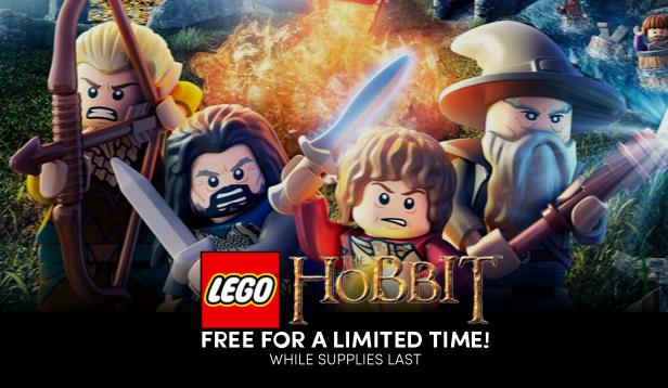 Get LEGO The Hobbit for FREE on Humble Bundle