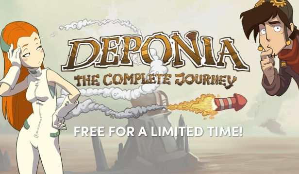 Get Deponia: The Complete Journey FREE for 48 hours