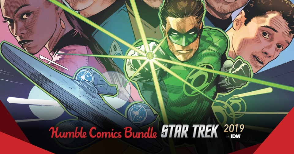 The Humble Comics Bundle Star Trek 2019 by IDW Publishing
