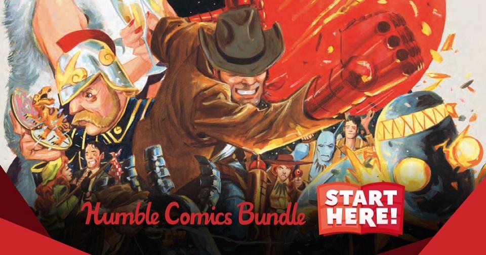 The Humble Comics Bundle: Start Here!