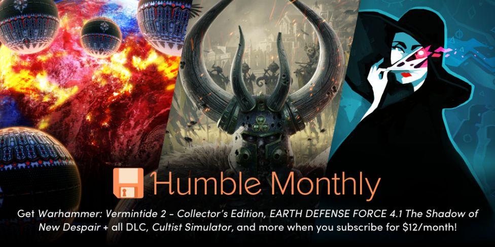 Humble Monthly Bundle March 2019