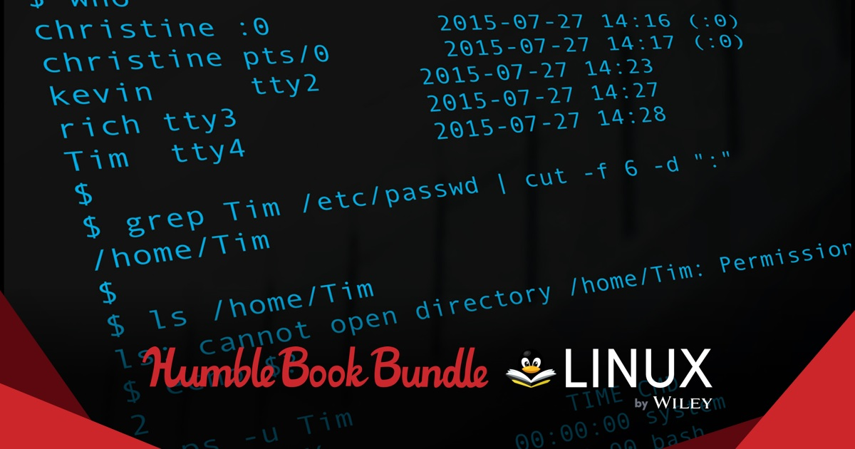 The Humble Book Bundle Linux by Wiley