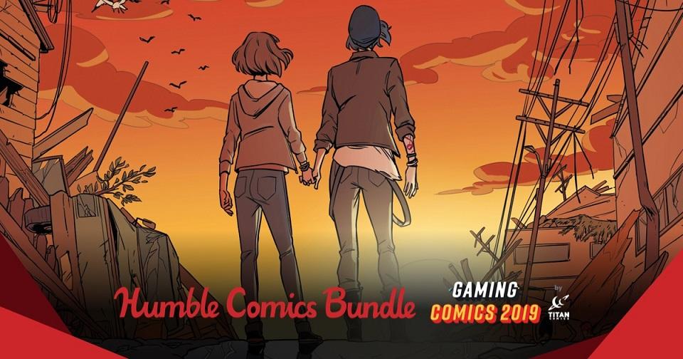 The Humble Comics Bundle Gaming Comics 2019 by Titan
