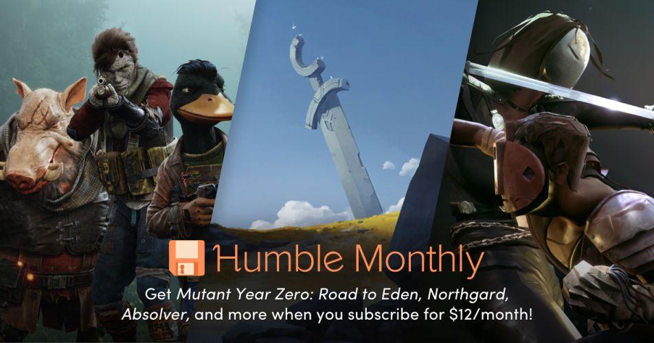 Humble Monthly Bundle April 2019
